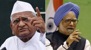 Come clean on corruption allegations: Anna to PM