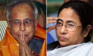 Prez poll: Pranab seeks Mamata's support
