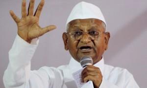 Anna Hazare begins fast-unto-death