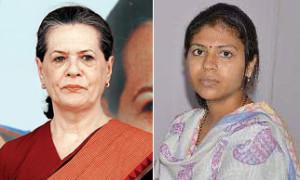 Sonia writes to PM, asks him to intervene