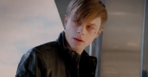 Dane DeHaan as emo Harry Osborne