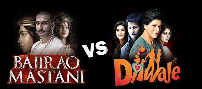 Dilwale vs Bajirao Mastani: Who will win the box office battle?