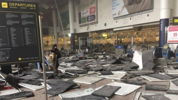 Two arrested in Brussels suicide attack, PM Charles Michel calls it 'black day'