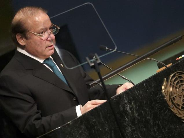Pakistan PM Nawaz Sharif's speech at UNGA