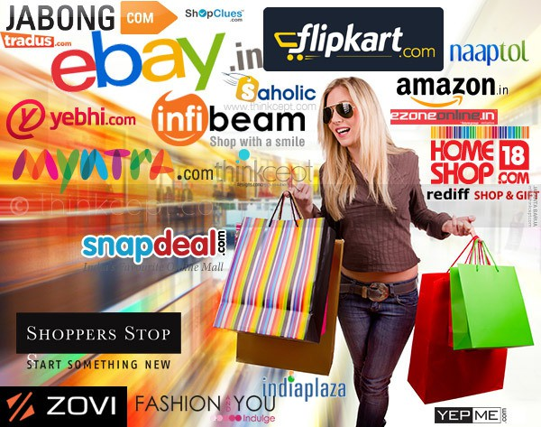 Online shoppingTrend increases day by day in India