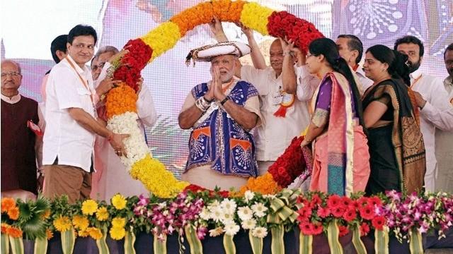 PM Narendra Modi celebrated his 66th birthday