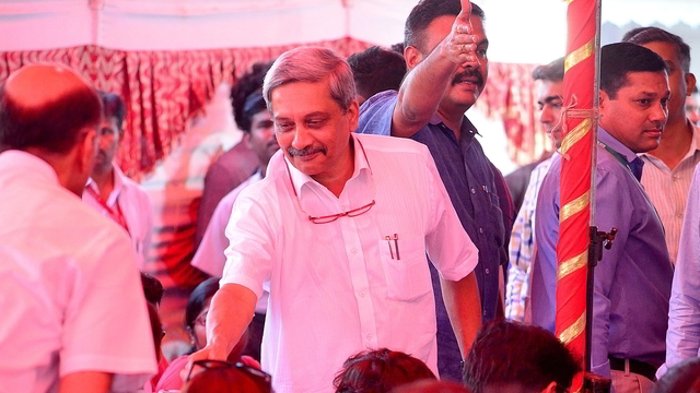 Parrikar takes as oath as Goa CM