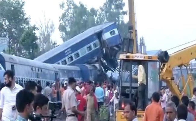 Puri-Haridwar Kalinga Utkal Express Derailed