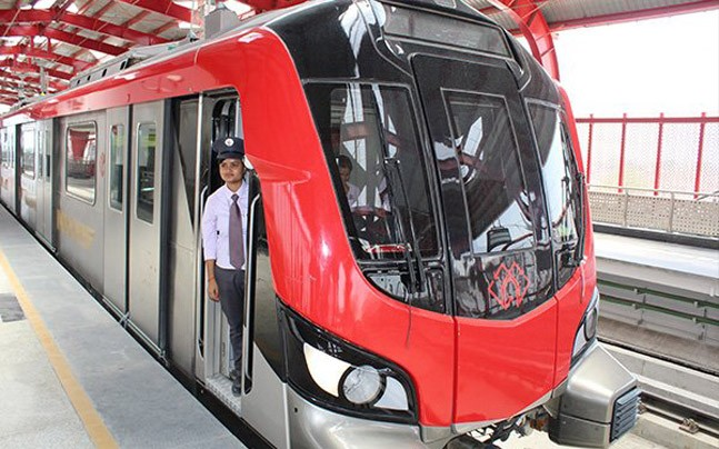 Lucknow Metro thrown open to public, CM Adityanath, Home Minister Rajnath Singh inaugurate phase-I