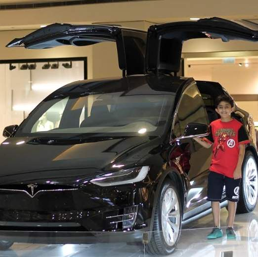 Tesla Model X worth over Dh300,000 wins by Emirati in Dubai