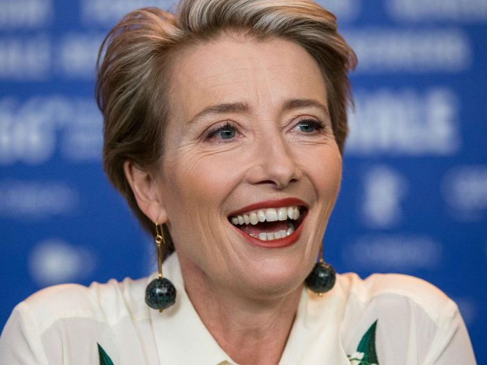 Emma Thompson shuts down interviewer who asks her about the royal wedding