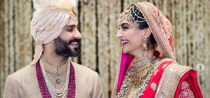 The Star-Studded Wedding Of A Bollywood Diva Sonam Kapoor  with Anand Ahuja
