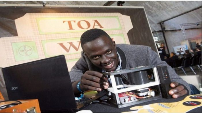 Ugandan wins major prize for developing bloodless malaria test