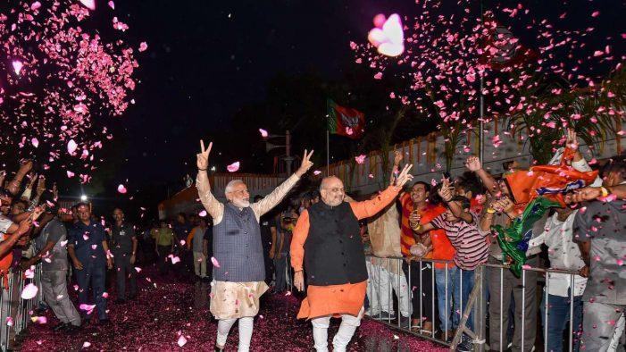 India Lok Sabha Election Results 2019: Modi Wins again