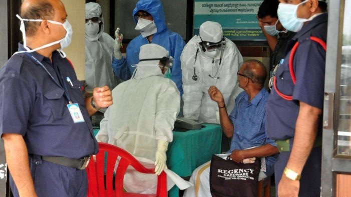 College student confirmed to be infected by Nipah virus