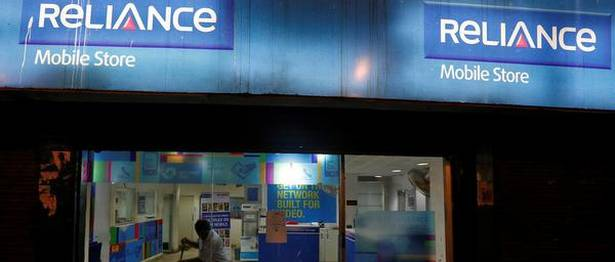 RCom shares closes at Rs 0.57